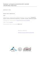 prikaz prve stranice dokumenta Osobine i primjena parametarskih metoda određivanja otjecanja