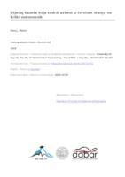 prikaz prve stranice dokumenta Utjecaj kazete koja sadrži azbest u čvrstom stanju na krški vodonosnik